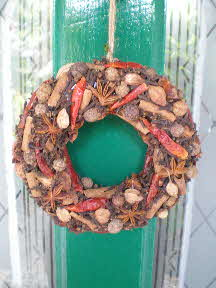 spice wreath